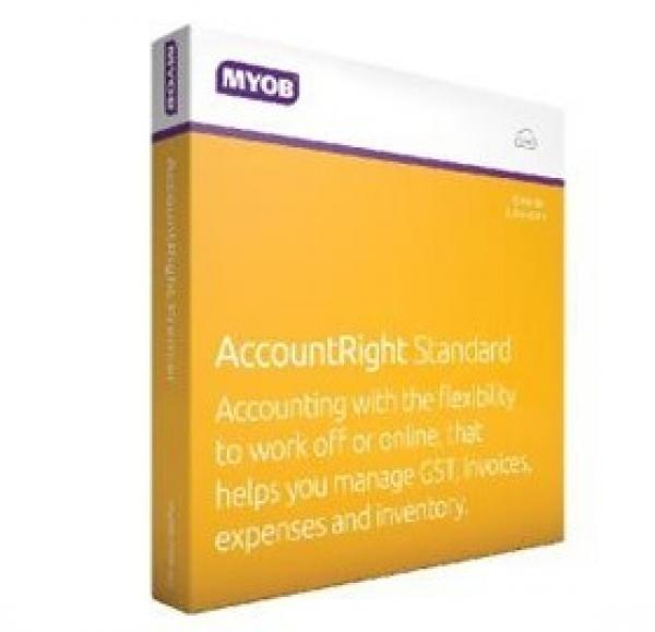 MYOB Accountright Standard - 12m MASUB-RET-AU