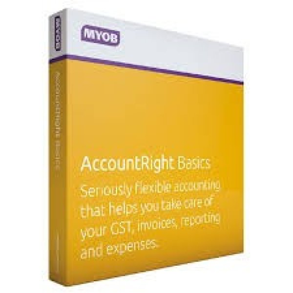 MYOB Accountright Basics - 12m MBSUB-RET-AU