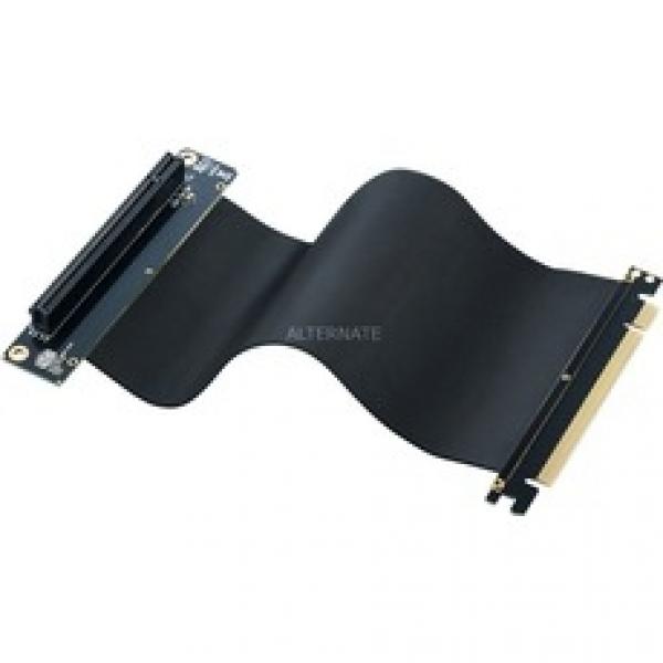Premium Universal Pcie X16 Riser Cable 200MM MCA-U000C-KRC200