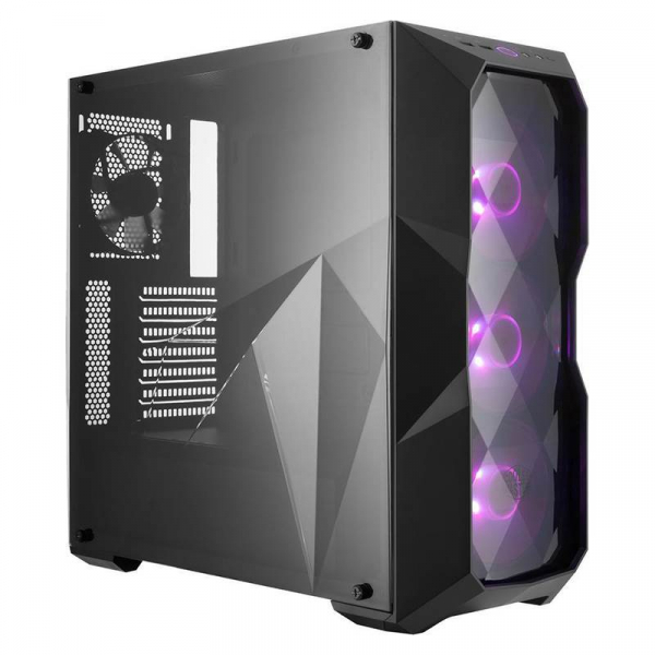 Masterbox Td500 Rgb Diamond Cut Design 3x Rgb Led Fans Edge ( Mcb-d500d-kann-s00 )