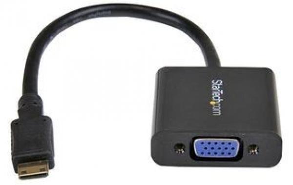 STARTECH Mini Hdmi To Vga Adapter Converter For MNHD2VGAE2