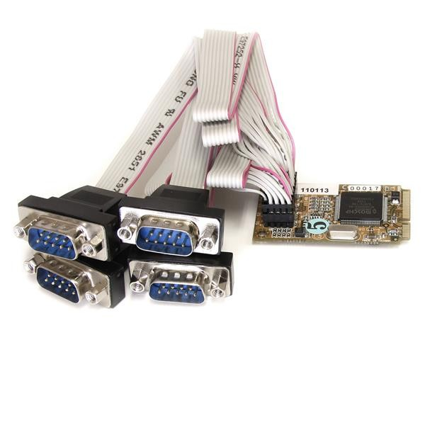 STARTECH 4 Port Rs232 Mini Pci Express Serial MPEX4S552