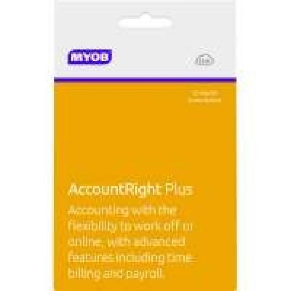 MYOB Accountright Plus - 12m MPSUB-RET-AU