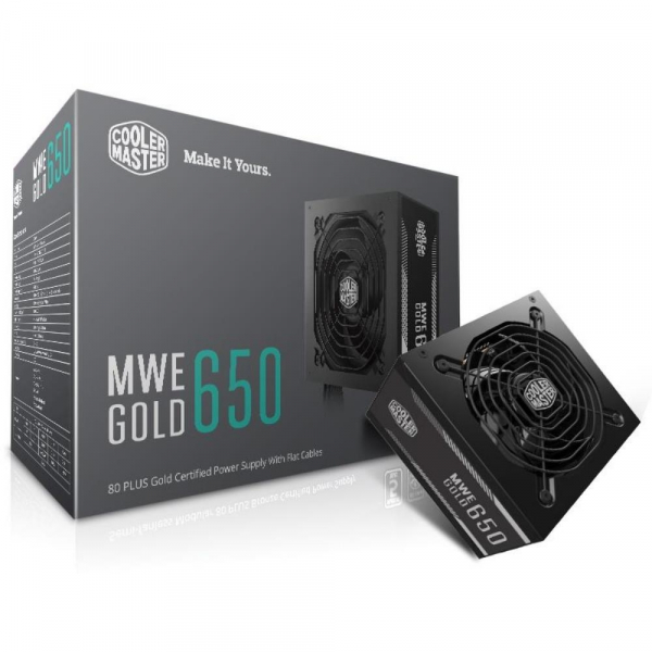 COOLER Master MWE Gold 650W A/AU Cable (MPY-6501-ACAAG-AU)