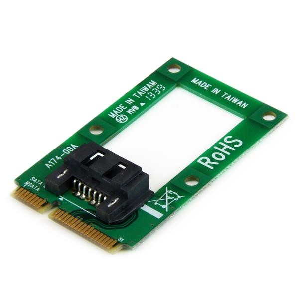 STARTECH Msata To Sata Hdd/ssd Adapter Mini Sata MSAT2SAT3