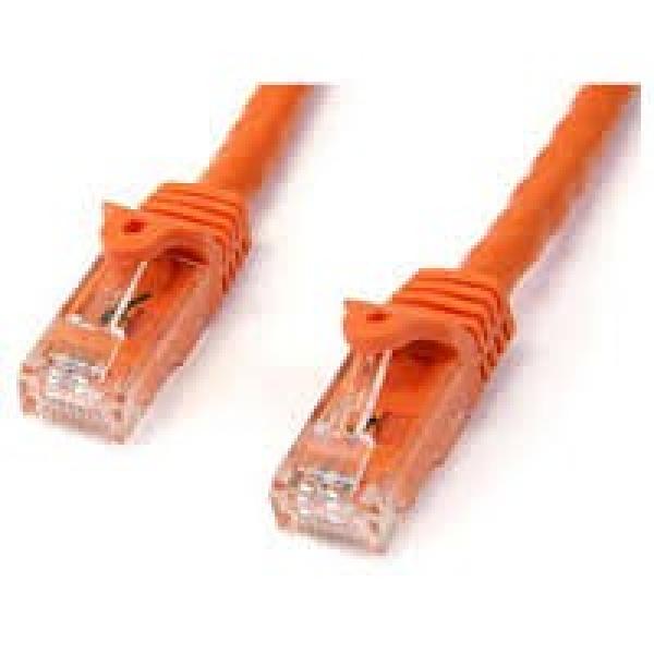 STARTECH 1m Orange Gigabit Snagless Rj45 Utp N6PATC1MOR