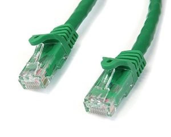 STARTECH 0.5m Green Gigabit Snagless Rj45 Utp N6PATC50CMGN