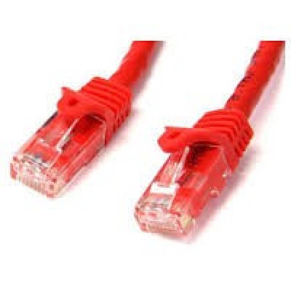STARTECH 5m Red Gigabit Snagless Rj45 Utp Cat6 N6PATC5MRD