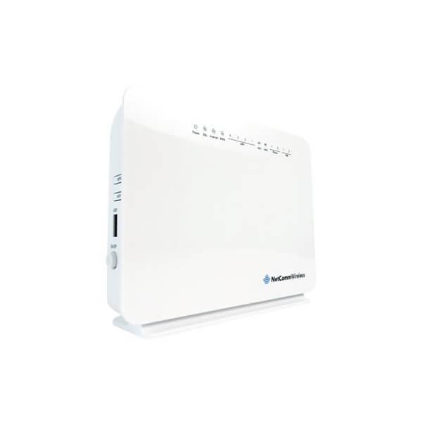 NETCOMM NF10QWV Vdsl / Adsl N300 Wifi Modem Router