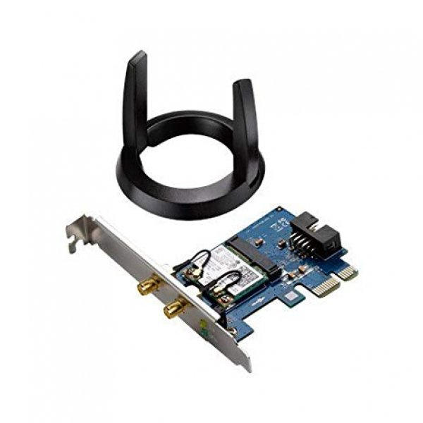 Asus AC1200 Dual Band And Bluetooth 4.0 PCI-E Adapter (PCE-AC55BT)