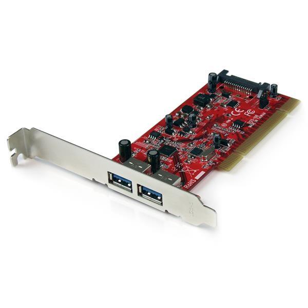 STARTECH 2 Port Pci Superspeed Usb 3.0 Adapter PCIUSB3S22