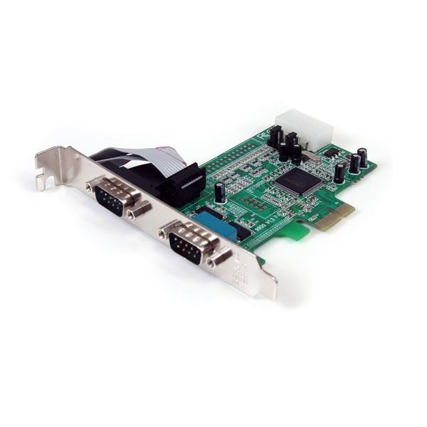 STARTECH 2 Port Native Pci Express Rs232 Serial PEX2S553