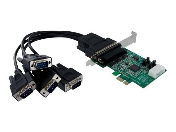 STARTECH 4 Port Native Pci Express Rs232 Serial PEX4S952