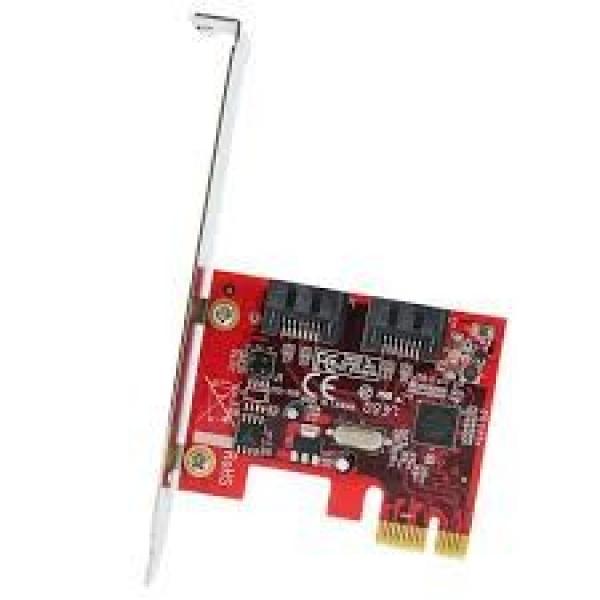 Startech 2 Port Sata 6 Gbps Pci Express Sata Controller (PEXSAT32)