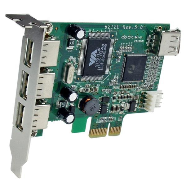 STARTECH 4 Port Pci Express Low Profile High PEXUSB4DP