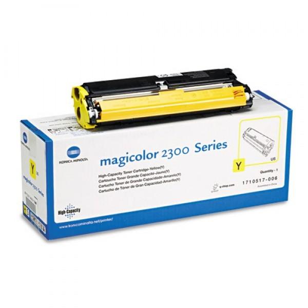 KONICA MINOLTA Mc2300/mc2350 Toner - Yellow 1710517006