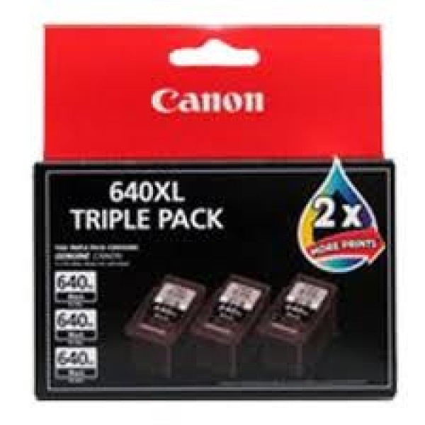 CANON 1x Pg-640xl Black 1 X Cl-641xl Colour Ink PG640XLCL641XL