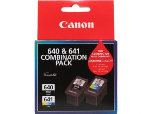 CANON 1 X Black Pg645 & 1 X Colour Cl646 PG645CL646CP