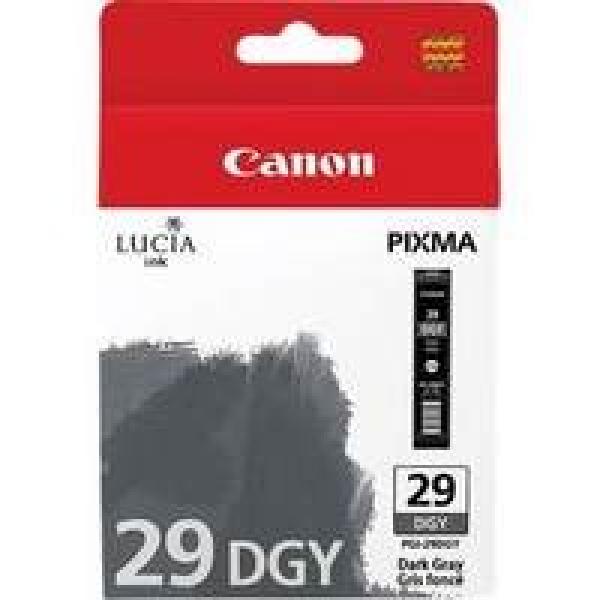 CANON Dark Grey Ink Tank For PGI29DGY