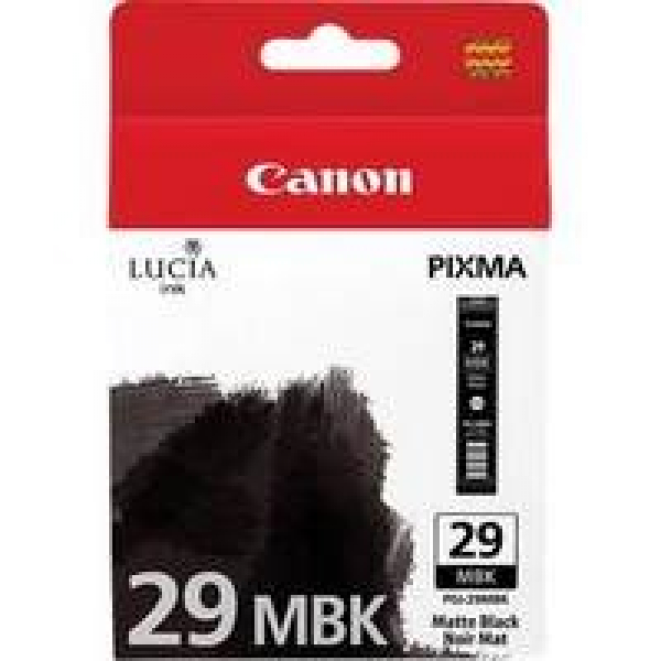 CANON Matte Black Ink Tank For PGI29MBK
