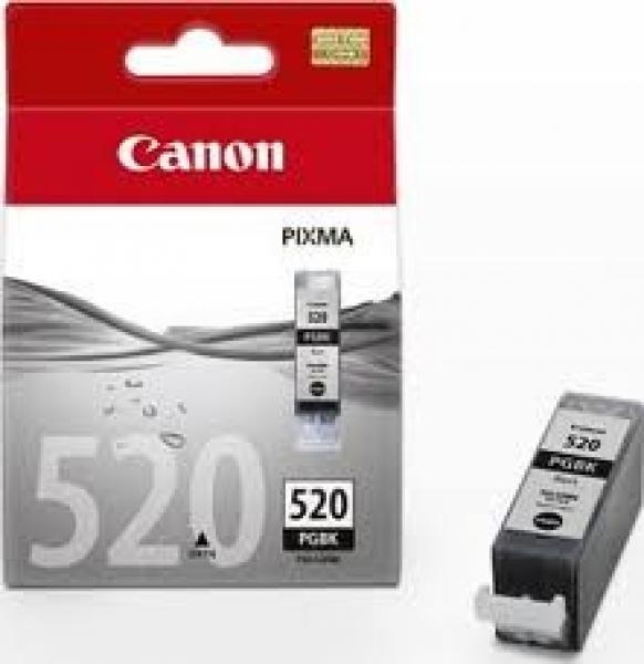 CANON Black Ink Tank For Ip3600/4600 PGI520BK