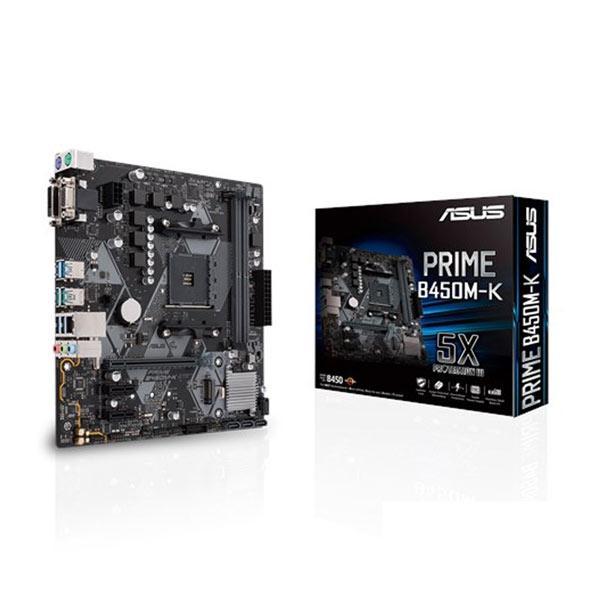 Asus Prime-b450m-k Matx Mb ( Prime B450m-k )