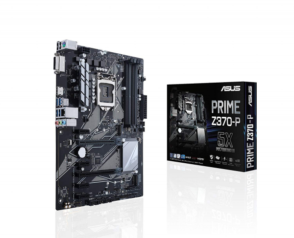 Asus LGA-1151 ATX Motherboard  with LED lighting (PRIME Z370-P)