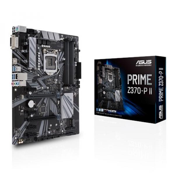 Asus Prime-Z370-P-II Atx Motherboard (Prime Z370-P II)