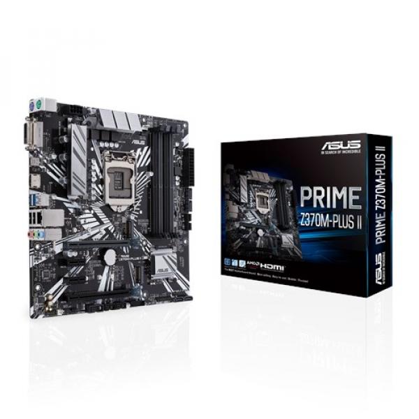 Asus Prime-Z370M-Plus-II Matx Motherboard (Prime Z370M-plus II)