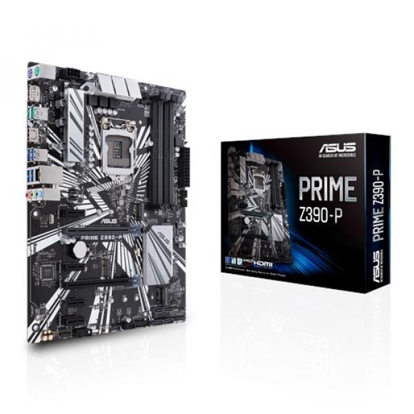 Asus Prime-Z390-P Atx Motherboard (Prime Z390-P)