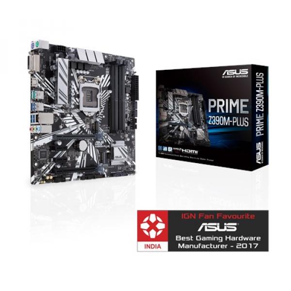 Asus Prime-Z390M-Plus Matx Motherboard (Prime Z390M-Plus)