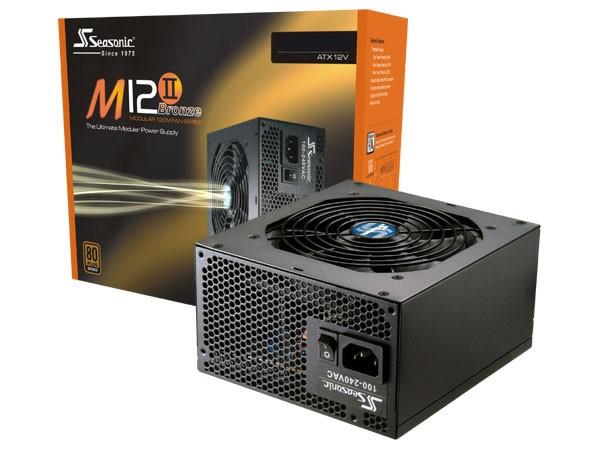 SEASONIC M12ii Bronze 750w Modular Power Supply PSUSEAM12II750W