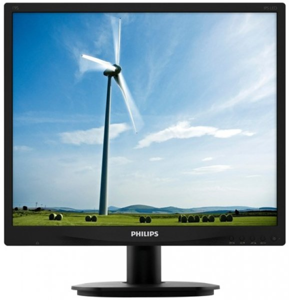 PHILIPS 19 IPS 1280x1024 5MS DVI VGA Speakers (19S4QAB)