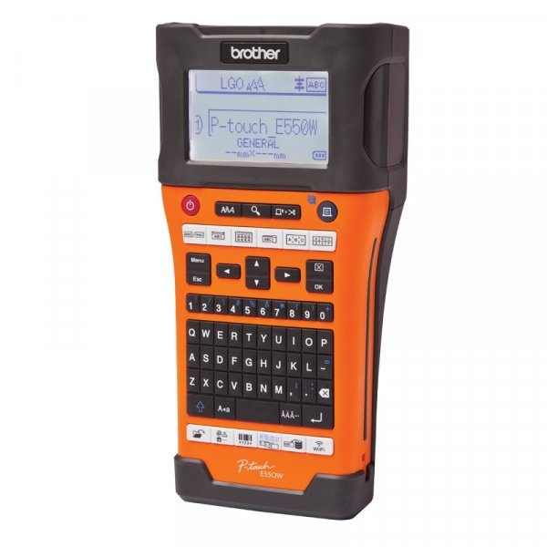 BROTHER Wireless Industrial Labeller Up To 24mm PT-E550WVP