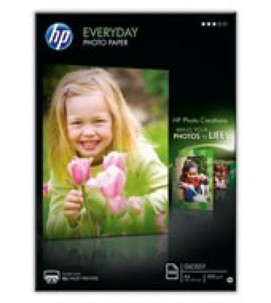 HP Everyday Photo Paper - A4 - 210 Mm X 297 Mm Q2510A