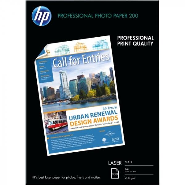 HP  Professional Matt Laser Photo Paper-100 Q6550A