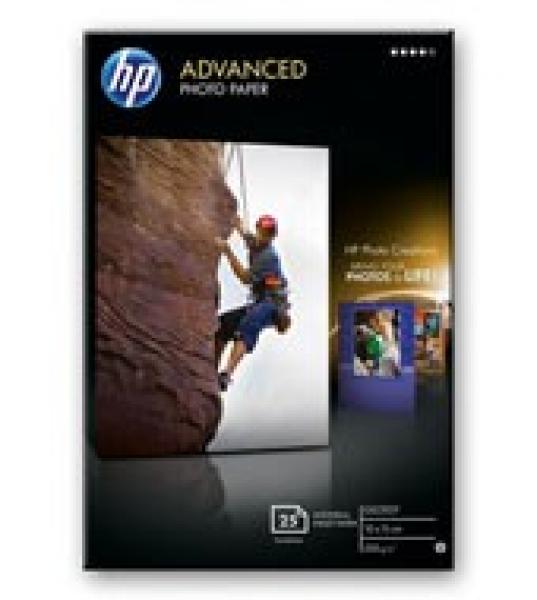 HP  Advanced Gloss Photo Paper 25 Q8691A