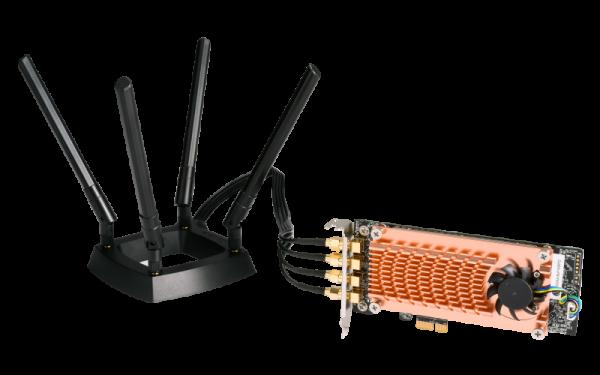 Qnap Dual-Band AC2600 Wireless Card-X53BEX63X63UX73X73UTS-x7 NAS Accessories (QWA-AC2600)