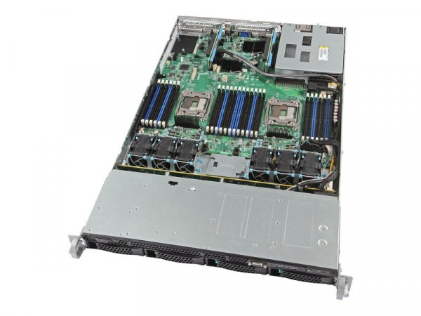 INTEL  - 1u Rack Server System. Incl: 1x Svr Brd R1304WT2GSR