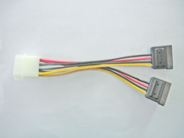 8WARE Molex Power Splitter Cable 1 X Molex M To RC-5082