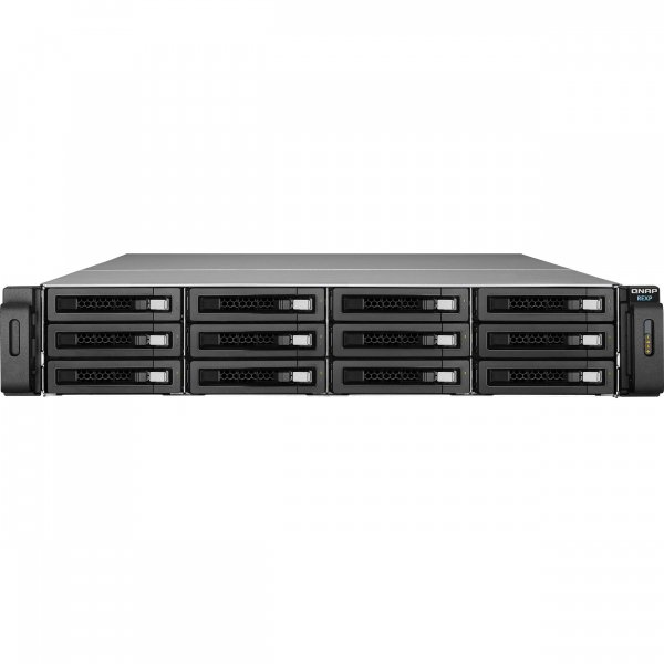 QNAP -US 12-Bay NAS SAS RAID Expansion Enclosure REXP-1220U-RP