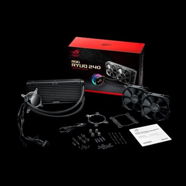 Asus  Rog Ryuo 240 All-in-one Liquid Cpu Cooler Oled Aura Syn ( Rog Ryuo 240 )