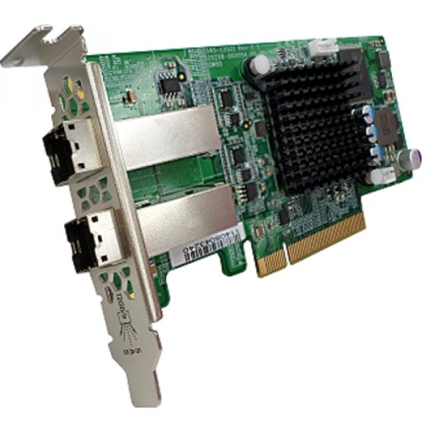 Qnap Dual-Wide-Port Storage Expansion Card SAS Network Storage (SAS-12G2E-U)