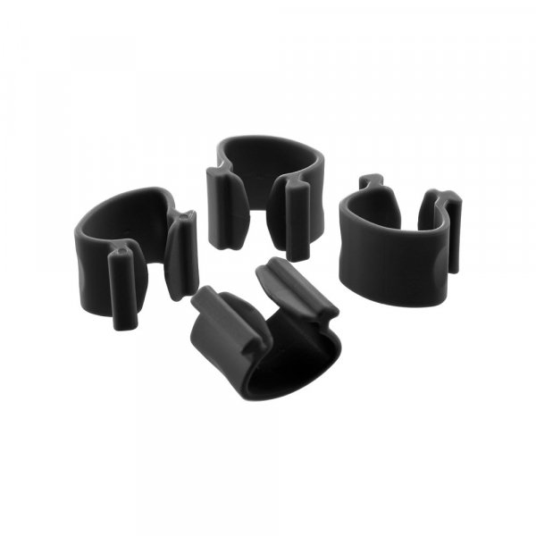 Atdec  Systema Cable Clips Pack Of 4 Black ( Sc4b )