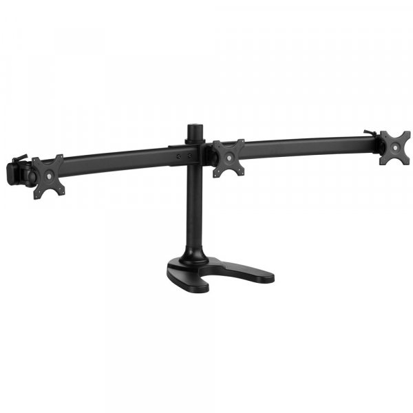 ATDEC Spacedec Freestanding Triple Mount Black ( SD-FS-T