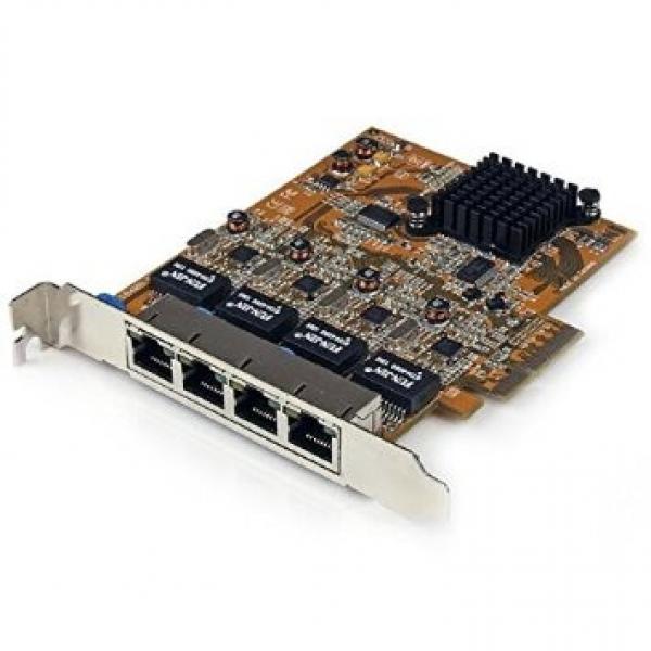 STARTECH 4 Port Pci Express Pcie Gigabit ST1000SPEX42