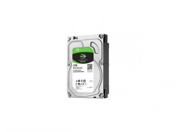 Seagate Barracuda 3 TB 3.5 Internal Hard Desktop Drive (ST3000DM007)