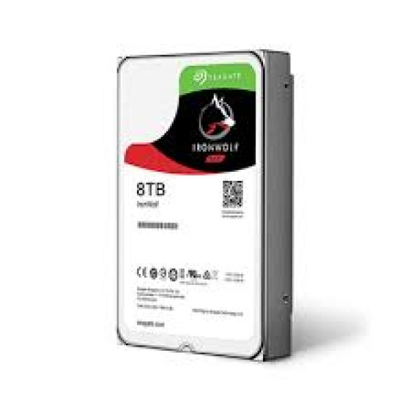 SEAGATE Ironwolf 8tb Nas 3.5in 7200rpm 6gb/s ST8000VN0022