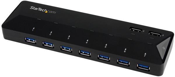 STARTECH 7-port Usb 3.0 Hub Plus Dedicated ST93007U2C