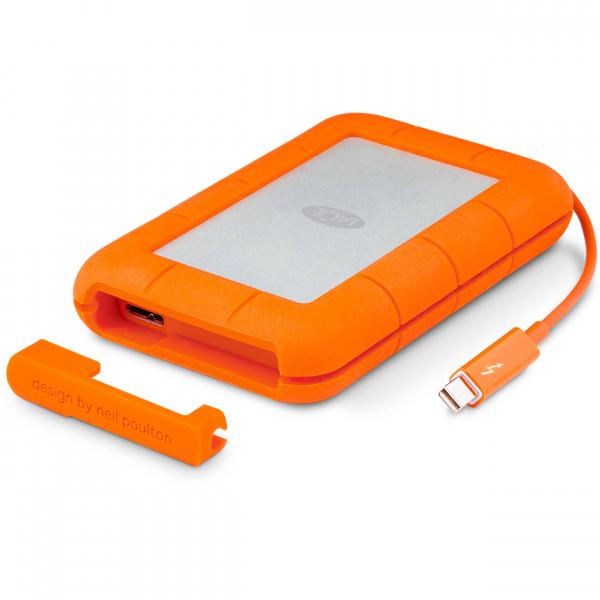 Lacie 4TB Rugged Raid ThunderBolt & USB 3.0 External Portable (STFA4000400)